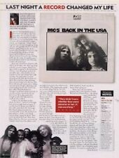 Motorhead Lemmy & The MC5 LP a retrospective Article