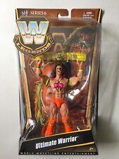 WWE Mattel Elite Legends ULTIMATE WARRIOR Wrestling Figure WWF Wrestlemania 6