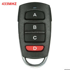 4 Buttons Cloning 433mhz Electric Garage Door Remote Control Key Fob Universal