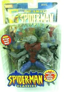 2000 Toy Biz Spider-Man Classics Marvel Legends Series 1 MAN-SPIDER Sealed NEW