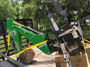 Bush Hog BH650 backhoe attachment