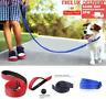 4FT Dog Lead Rope Leash Large Leads Nylon Padded Soft Walking ReflectiveBraided
