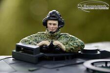 Neuheit Leopard 2 A6 Panzer Bunderwehr Fahrer bemalt 1:16 Resin  Fertig  Figur