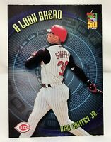 2001 Topps A Look Ahead KEN GRIFFEY JR. Cincinnati Reds Baseball Card #LA5
