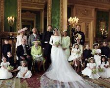 Royal Wedding Harry and Meghan Markle Family Portrait 10x8 Photo