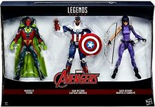 "Marvel Legends AVENGERS 6"" figure toy set , Vision, Hawkeye & Cap America Falcon"