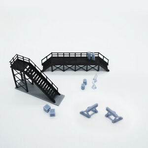 Outland Models Train Locomotive Maintenance Platform & Accessories HO OO Scale