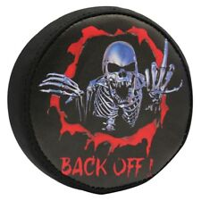 Hot Racing Scx Spare Tire Cover: Skeleton SCX36117F