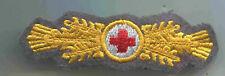 Rot Kreuz Leistungsspange DRK Gold mgest auf grau 1 Stück (St261)