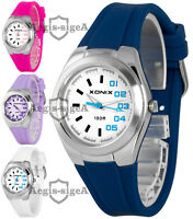 Analog wrist-watch XONIX for women and girls, silicone strap, waterproof