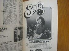 1976 TV Guide  (LUCY/GREGORY  SIERRA/ABE  VIGODA/BARBARA  BARRIE/BRENDA  VACCARO