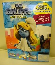 #3072 Modern Publishing 2 Pack The Smurfs Giant Coloring & Activity Book