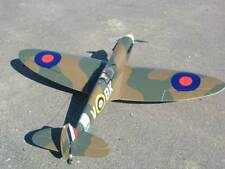 Electric 1/6 Scale Spitfire Plans, Templates and Instructions 72ws