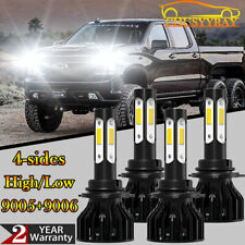 9005 9006 LED Headlight Bulbs For 2001-2006 Chevy Silverado GMC Sierra 1500 2500