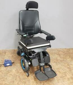 Permobil F3 Corpus Power Chair Wheelchair Tilt, Recline Charger & New Batteries