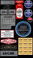 Jaguar XK120 XK140 XK150 XK sticker decals – OEM QUALITY