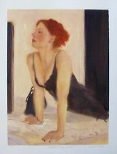 "JANET TREBY ""SATURDAY NIGHT"" Hand Signed Limited Edition Giclee"