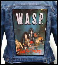 WASP - I Wanna Be Somebody --- Giant Backpatch Back Patch