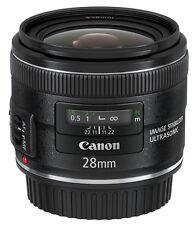 Canon EF 28mm F/2.8 Is USM Lens Ef2828isu
