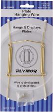 "Plymor Gold Mountable Plate Hanger 6 Pk 6.125""H x 3""W x .5""D (Plates 8"" - 10"")"