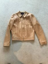 MULBERRY LEATHER JACKET SIZE 10 GREAT CONDITION
