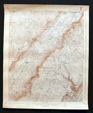 Tennessee Antique North America Topographical Maps Ebay