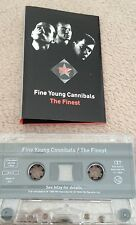 CASSETTE FINE YOUNG CANNIBALS THE FINEST 1996.