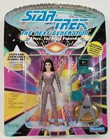 1992 Playmates Star Trek The Next Generation Lt. Deanna Troi Toy Action Figure