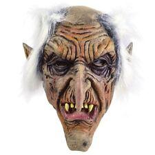 Rubber Goblin Overhead Mask - Fancy Halloween Dress Scary Accessory Old Man