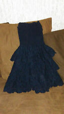 womens holister dress size small navy blue