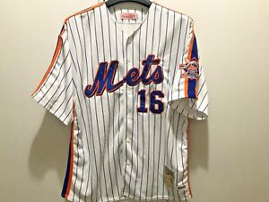 MITCHELL AND NESS NEW YORK METS DWIGHT GOODEN JERSEY SIZE 54 THROWBACK RARE