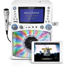 "Singing Machine Bluetooth Karaoke System w/ 7"" Color Monitor Singing Portable"