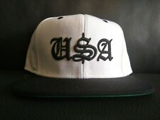 USA Crooks and Castles cap white black