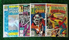 LOT OF 5 SPECTACULAR SPIDER MAN COMICS #1, #7, #133, #155, #189 FINE/VERY FINE