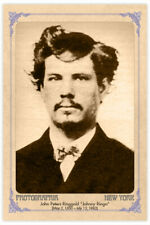 JOHNNY RINGO Infamous Old West Gunfighter Cabinet Card  CDV RP