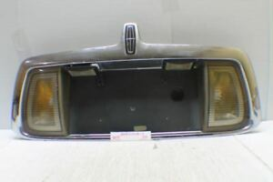2000-2002 Lincoln LS Center Trunk Lid License Plate OEM Tail Panel 01 4O5