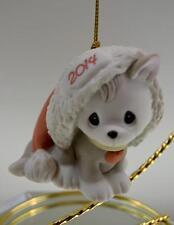 Precious Moments Ornament Cat dated 2014 141049 Bx FreeusaShp