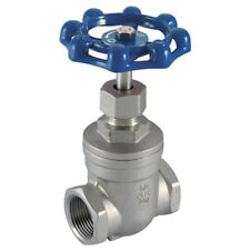 "316 STAINLESS STEEL VALVES - 1"" BSP 316 ST/STEEL GATE VALVE 7-01827"