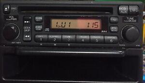 Honda Crv Cd Radio Dehm6017 With code Fully Tested with pocket & brackets