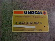 expired credit card. Unocal 76. unused, unsigned. expired 05/94