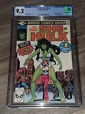 Savage She-Hulk #1 CGC 9.2 NM- First App Bronze Key Marvel 1980 High Grade
