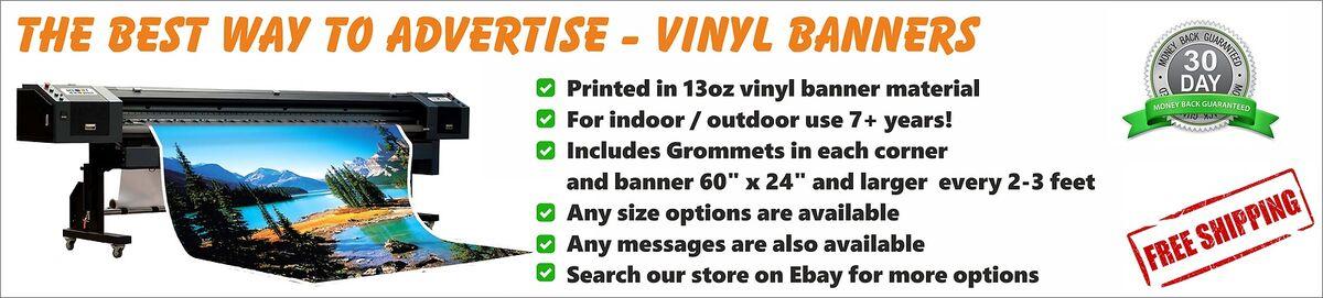 Advertising Vinyl Banner Printing