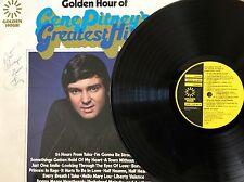 GENE PITNEY AUTOGRAPHED ALBUM 'GOLDEN HOUR'