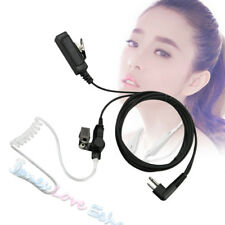 2 Pin Headset Mic Covert Acoustic Tube Earpiece For Motorola Radio Security Us
