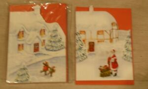 Special Unique Christmas Cards 2  Designs, pack of 10. SPECIAL PRICE.