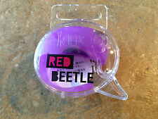 Knog Beetle Silicon Licht ROT blinkend Multi Modus-NEU-lila