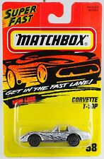 Matchbox MB 58 Corvette T-Top New On Card 1996