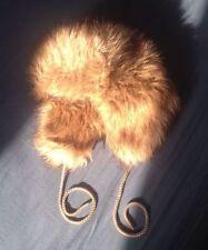 H&M Faux Fur Aviator/Trapper Hats for Women