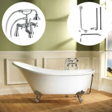 White Acrylic Oval Baths