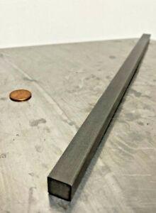 "2-ft 24/"" Long Mild Steel 1//2/"" x 1//2/"" Square Bar Metal Stock"
